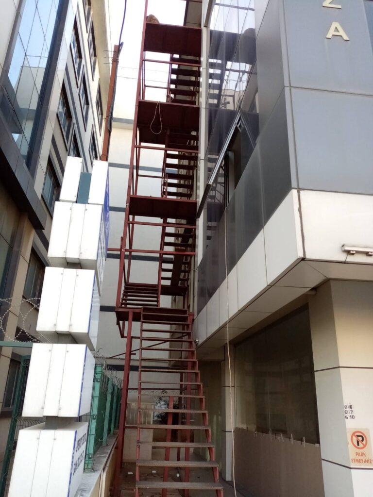 Yangın Merdiven Basınçlançdırma