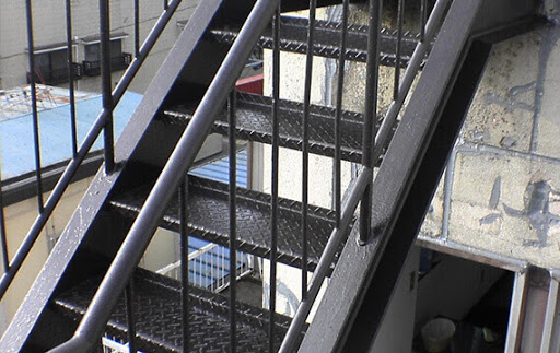 itfaiye onaylı yangın merdivenleri