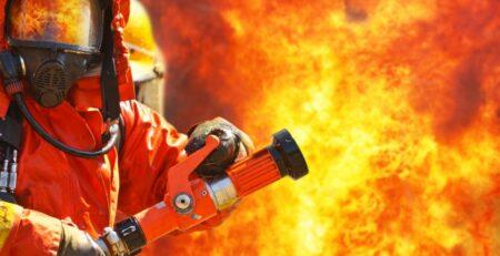 güvenli yangın söndürme adımları